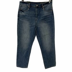 Blank NYC The Madison High Rise Crop Denim Jeans